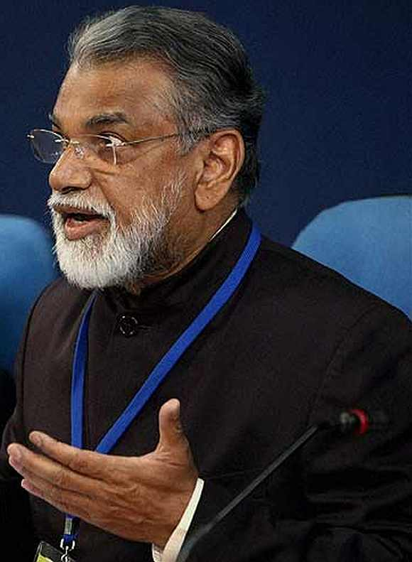 ISRO chief P Radhakrishnan
