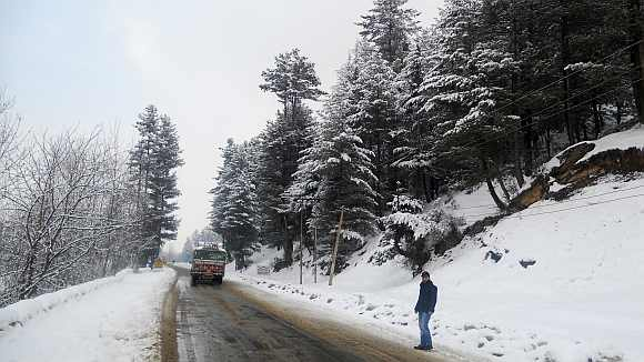 The Srinagar-Kupwara Road