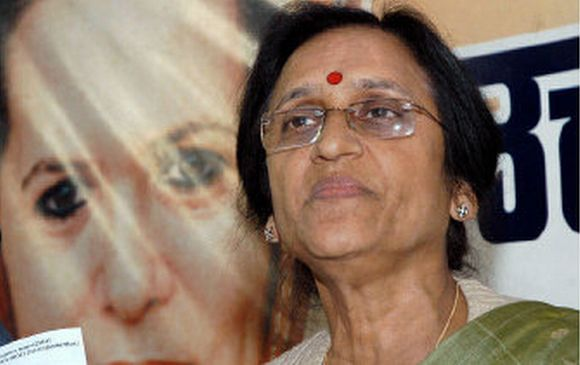 UP Congress chief Rita Bahuguna Joshi