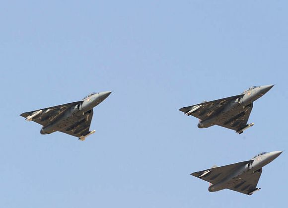 The Tejas LCA