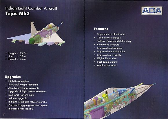 The Tejas specifications