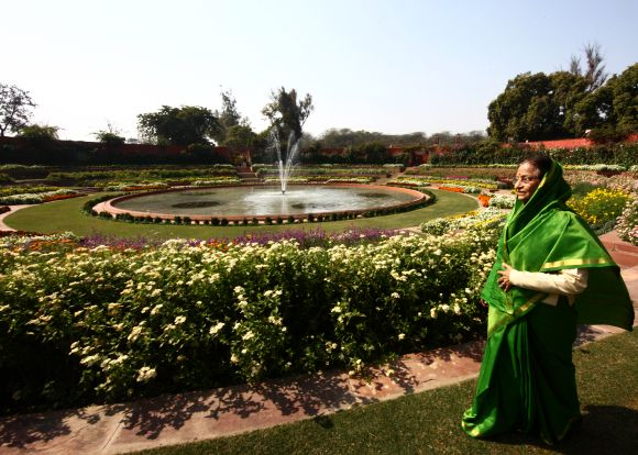 MUST SEE: President's regal garden in full bloom!