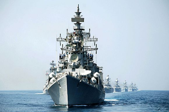 Indian Navy warships