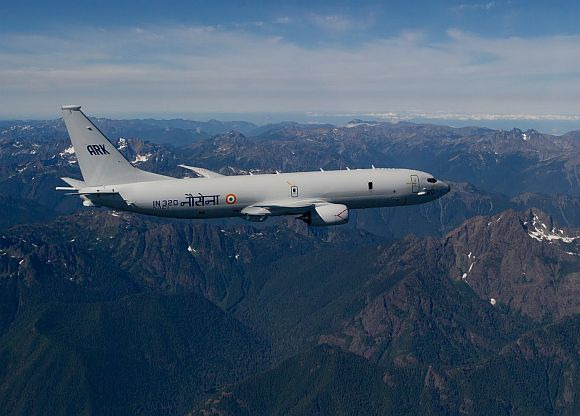 P-8I long-range maritime reconnaissance aircraft