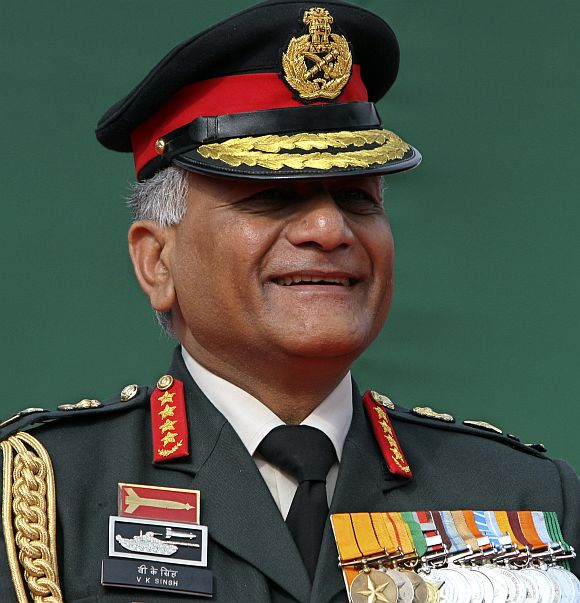 General VK Singh's age row had no national security implications