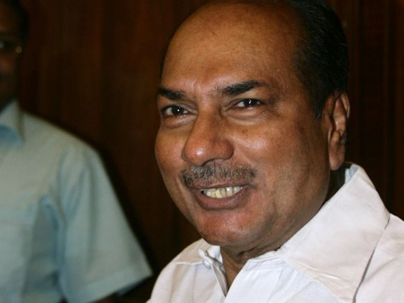 Defence Minister A K Antony 'is seriously concerned about the way the armed forces are equipped'