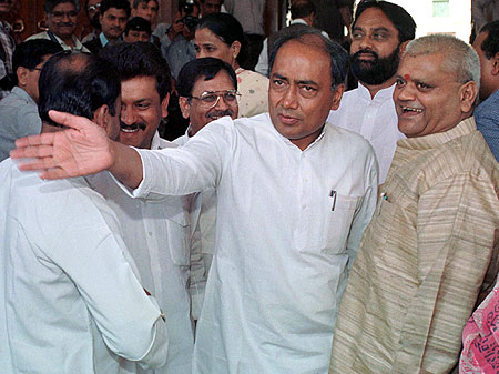 Digvijay Singh, the former Madhya Pradesh chief minister, is one of the most powerful members of the Congress party