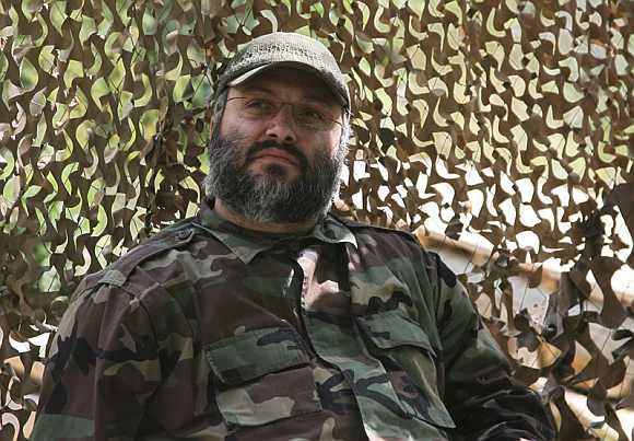 Hezbollah's military commander Imad Fayez Mughniyeh