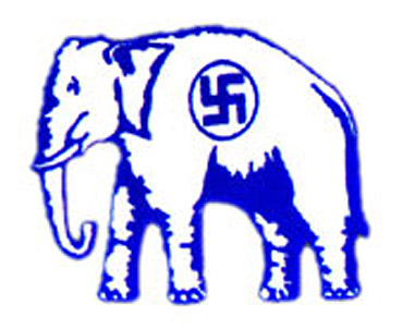 The election symbol of the BSP