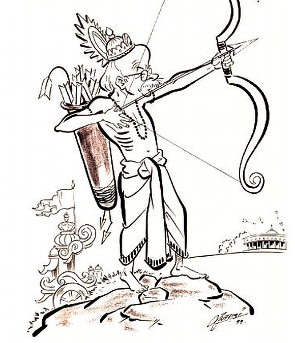 CARTOONS! The other side of firebrand Raj Thackeray