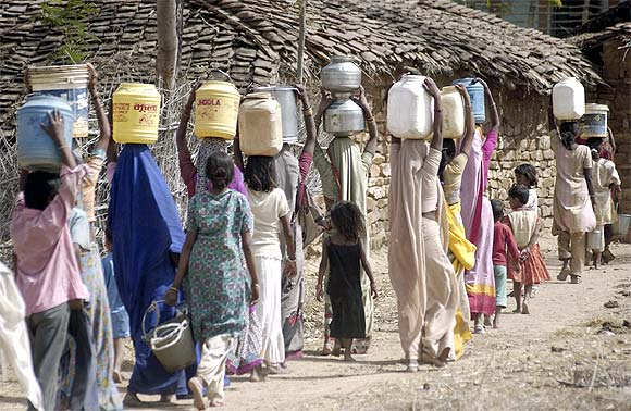 Bundelkhand has many CMs, but no water