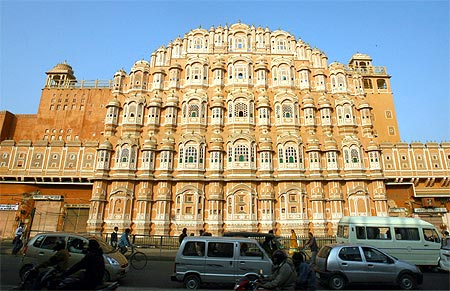 Jaipur's historic Hawa Mahal. Economist Arvind Panagariya left his hometown of Jaipur to study at Princeton in 1974