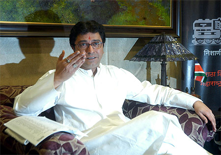 MNS founder Raj Thackeray