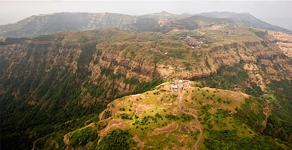 Vishalgad, 76 km northwest of Kolhapur