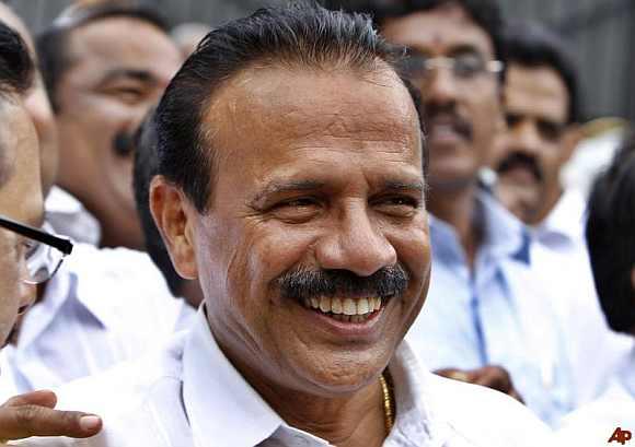 Karnataka CM Sadananda Gowda