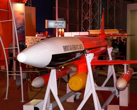 The DRDO-designed UAV Lakshya