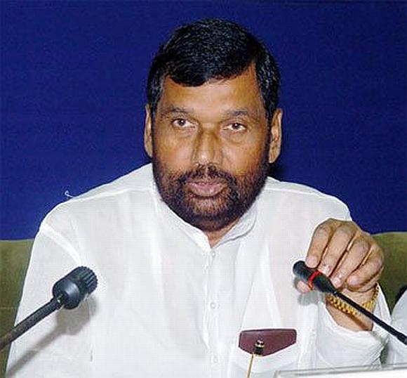 Lok Janshakti leader Ram Vilas Paswan.