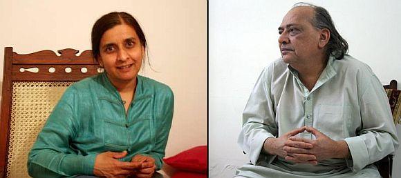 Suchitra Sheth and Achyut Yagnik