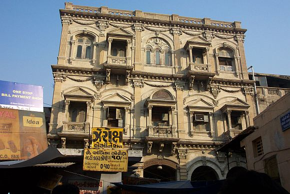 A file photograph of Ahmedabad's walled city