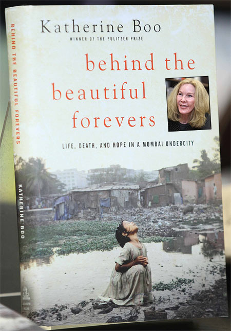 Katherine Boo's book Behind The Beautiful Forevers