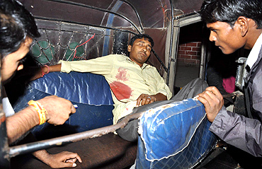 One the injured was an auto rickshaw driver