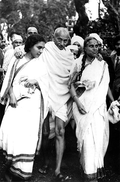 Image result for gandhi and grand nieces