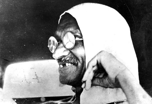 Proxy baptism of Mahatma Gandhi by US church