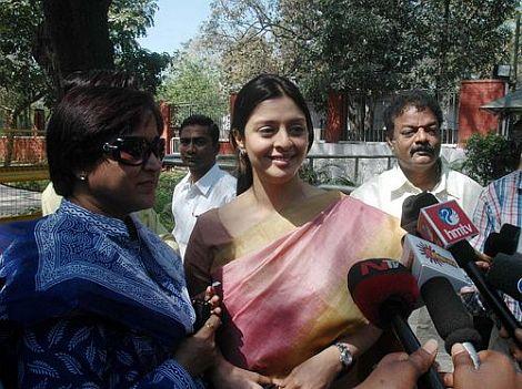 Nagma in  Delhi