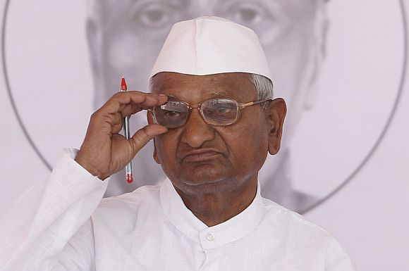 Congress downplayed question regarding dim possibilities of Anna Hazare campaigning against the party in the upcoming assembly elections