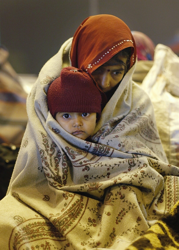 Winter chill sends shivers across north India
