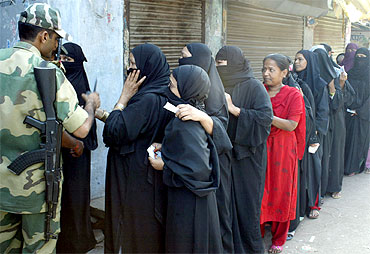 The Muslim vote counts in 130 seats in UP