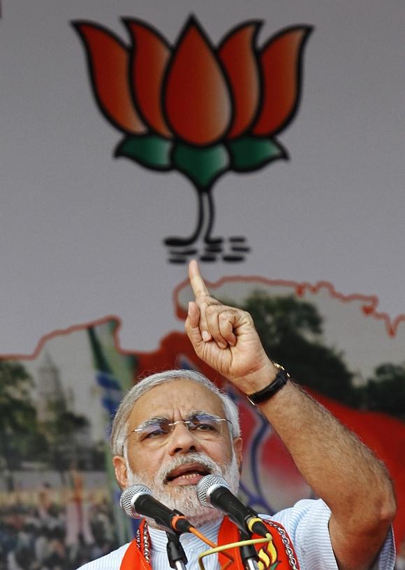 Modi slammed the Centre on Monday