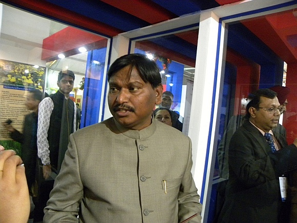 Jharkhand Chief Minister Arjun Munda