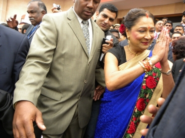 Kamla Persad-Bissessar, the prime minister of Trinidad and Tobago, is the chief guest at this year's PBD