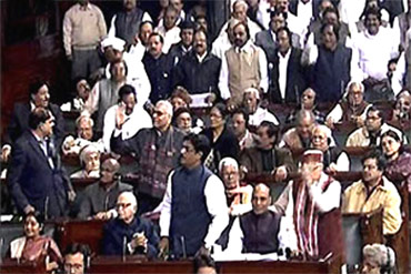 The Parliament debates on the Lokpal bill