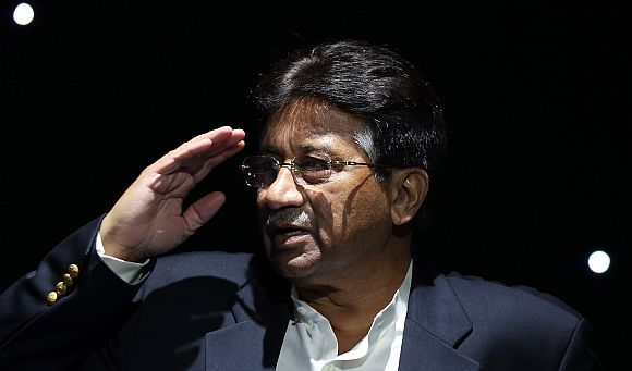 Former Pakistan President Pervez Musharraf