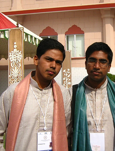 Dipankar Paul and Shivesh Kumar at the Jaipur PBD