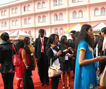 Some forty students and young professionals attended the Pravasi Bharatiya Divas