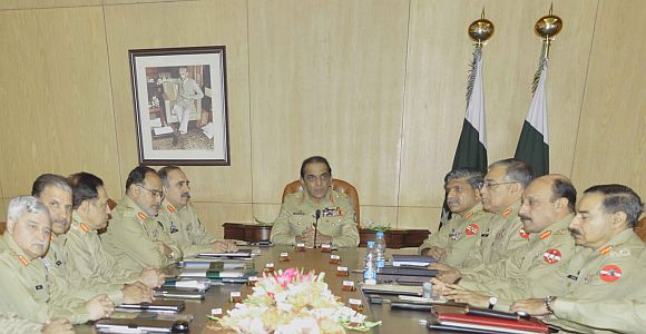 The army chief calls for an emergency meeting