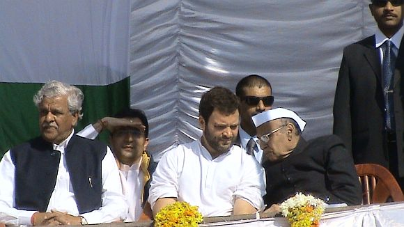 Congress on shaky ground in UP? Rahul thinks it is!