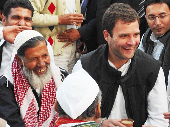 Rahul Gandhi criticised Modi during his rally in Amreli on Tuesday