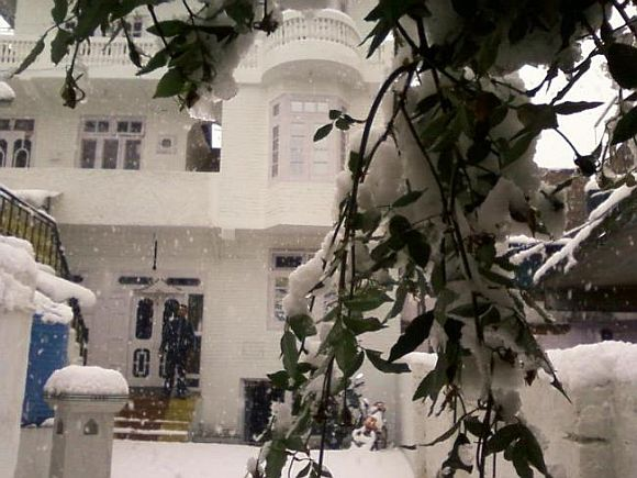 From Sikkim to Stuttgart, readers' snow PHOTOS