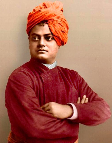 Swami Vivekananda remains a key figure in spreading Hindu philosophy in the West. He died in 1902, aged 39.
