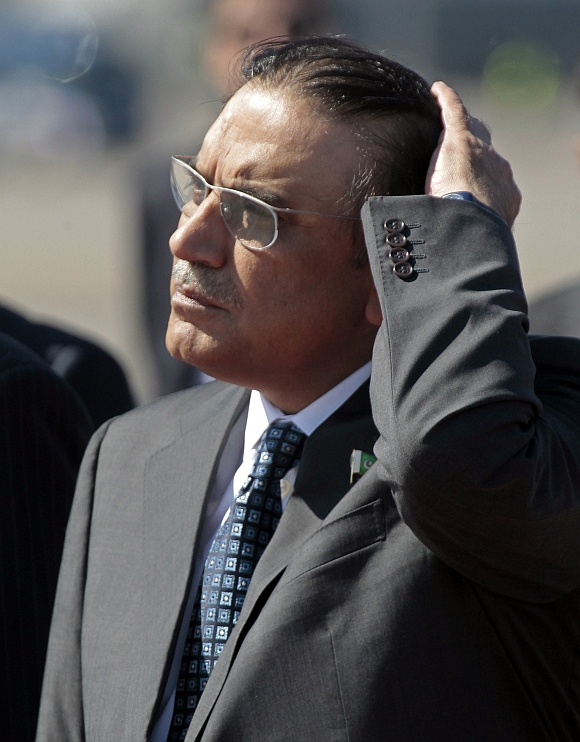 Zardari said he was ready to quit during a meet on Wednesday night