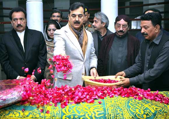 Pakistan's Prime Minister Yusuf Raza Gilani