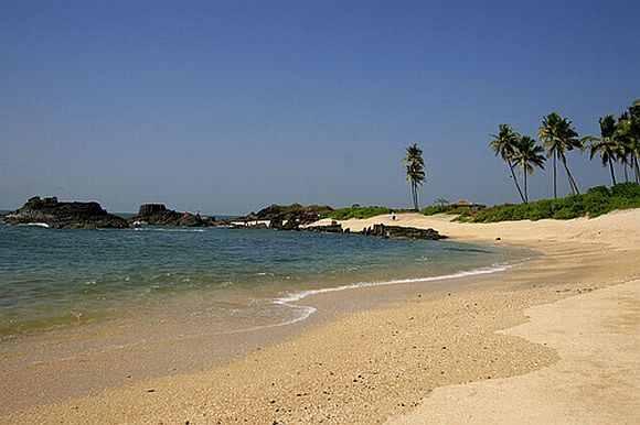The Malpe beach, near Udupi