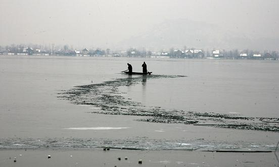 The FROZEN beauty of Kashmir