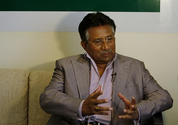 Former Pakistani President Pervez Musharraf