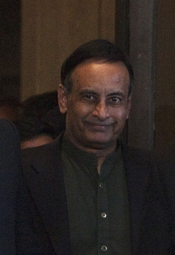 Former Pakistan envoy to US Husain Haqqani
