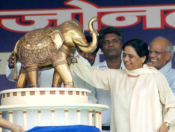 Uttar Pradesh Chief Minister Mayawati